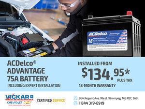 ACDelco® Advantage 75A Battery