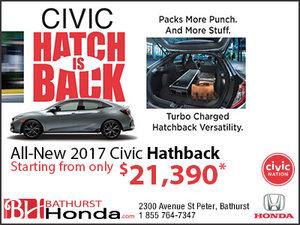 The Civic Hatchback is Back!