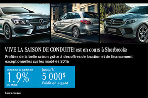 Vive la saison de conduite avec Mercedes-Benz