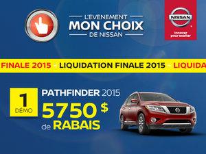 Liquidation de Pathfinder 2015 !