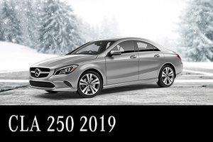 Solde de démos CLA 250 2019 : 537$/mois Location 45 mois
