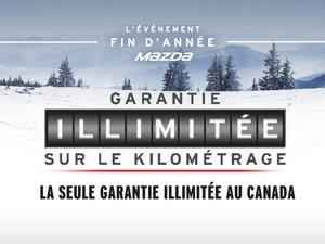 GARANTIE KILOMÉTRAGE ILLIMITÉE