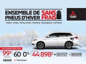Ensemble de pneus d'hiver sans frais - Mitsubishi Outlander PHEV