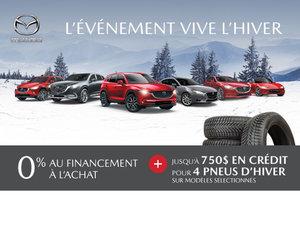 L'événement VIVE L'HIVER bat son plein chez Mazda!