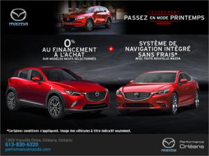 L'événement Passez en mode printemps Mazda chez Performance Mazda à Ottawa