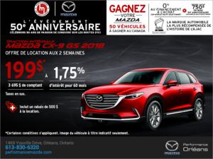 Procurez-vous le Mazda CX-9 2018 aujourd'hui! chez Performance Mazda à Ottawa