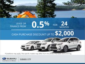 Subaru's Monthly Sales Event