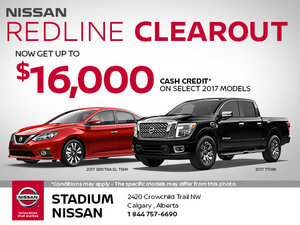 Nissan Redline Clearout