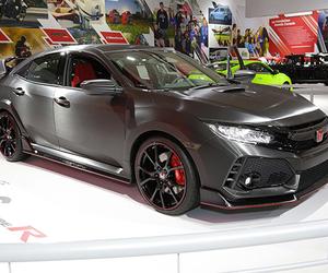 Le prototype Honda Civic Type R débarque à Montréal!
