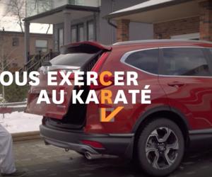 Honda CR-V 2017 et son hayon électrique
