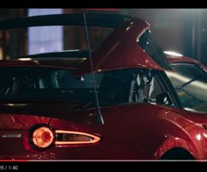 Une balade en Mazda MX-5 à Londres, la nuit!