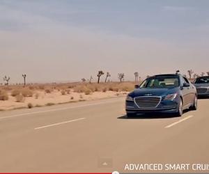Hyundai démontre son travail sur les voitures sans conducteur!