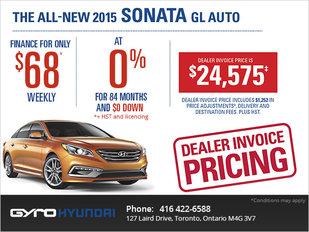 2015 Hyundai Sonata in Toronto
