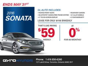 2016 Hyundai Sonata in Toronto