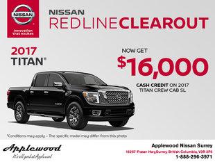 Save on the 2017 Nissan Titan!