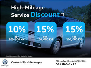High-Mileage Service Discount