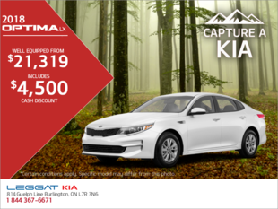 Get the 2018 Kia Optima