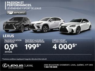 L'événement Passion et Performance de Lexus!