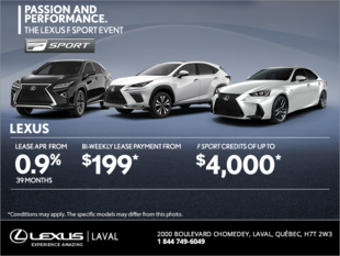 The Lexus Passion and Performance Event!