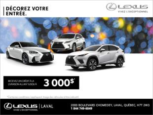 L'événement Décorez Votre Entrée de Lexus