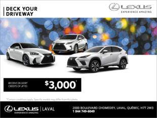 Lexus Deck Your Driveway Event.