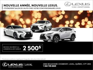 Nouvelle année, nouvelle Lexus.