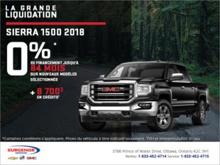 Le GMC Sierra 1500 2018