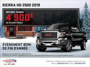 Le Sierra 2500 HD 2019