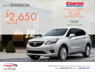 Get the 2019 Buick Envision