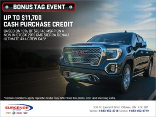 The GMC Bonus Tag Event!