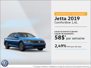 La toute nouvelle Jetta 2019