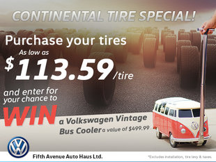 Continental Tire Special!