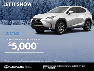 Save on the 2017 Lexus NX Today!