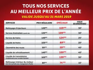 Tout nos services au meilleur prix