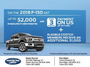 Save on the 2018 F-150