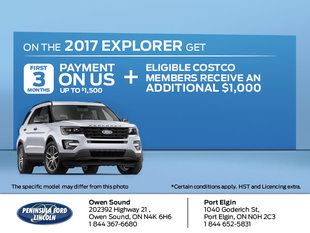 Save on the 2017 Explorer
