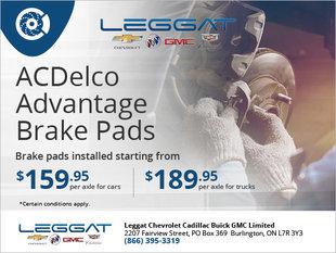 ACDelco Advantage Brake Pads