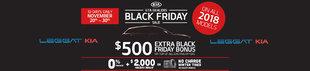 2017 Leggat Kia Black Friday Event
