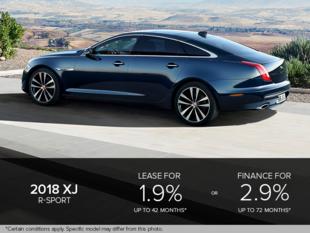 The 2018 XJ R-Sport