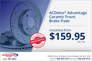 ACDelco Advantage Front Brakes