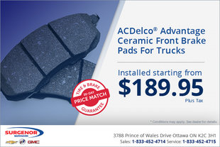 Truck Front Brake Pads