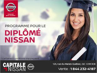 Programme pour le diplômé Nissan chez Capitale Nissan