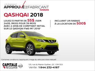 Nissan Qashqai 2018 chez Capitale Nissan