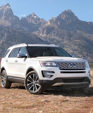 2017 Ford Explorer: Find New Trails