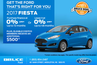 Get the 2017 Ford Fiesta Today!