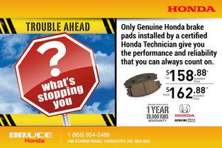 Genuine Honda Brake Pads