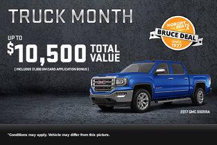 GMC's Truck Month!