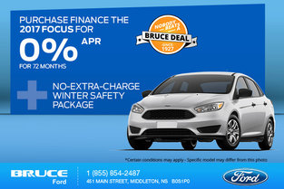 Save Big on the 2017 Ford Focus Today!