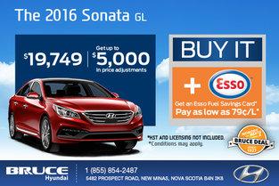 Take Home the 2016 Hyundai Sonata Today!
