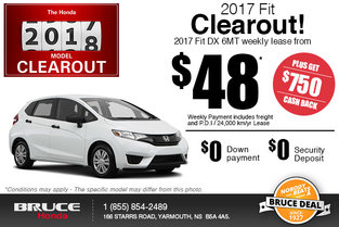 Drive Home the 2017 Honda Fit!